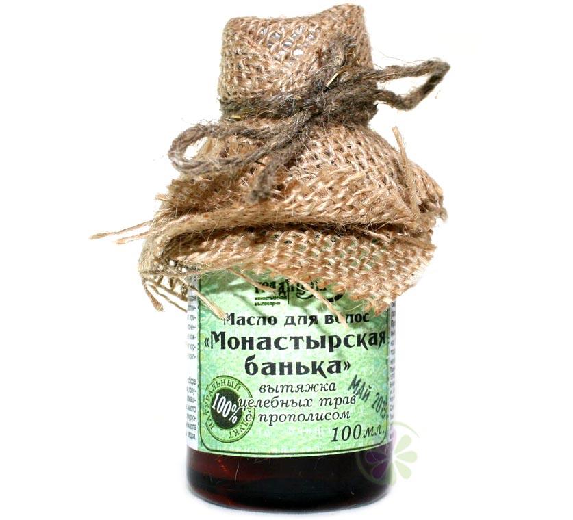 Купить масло для волос монастырская банька