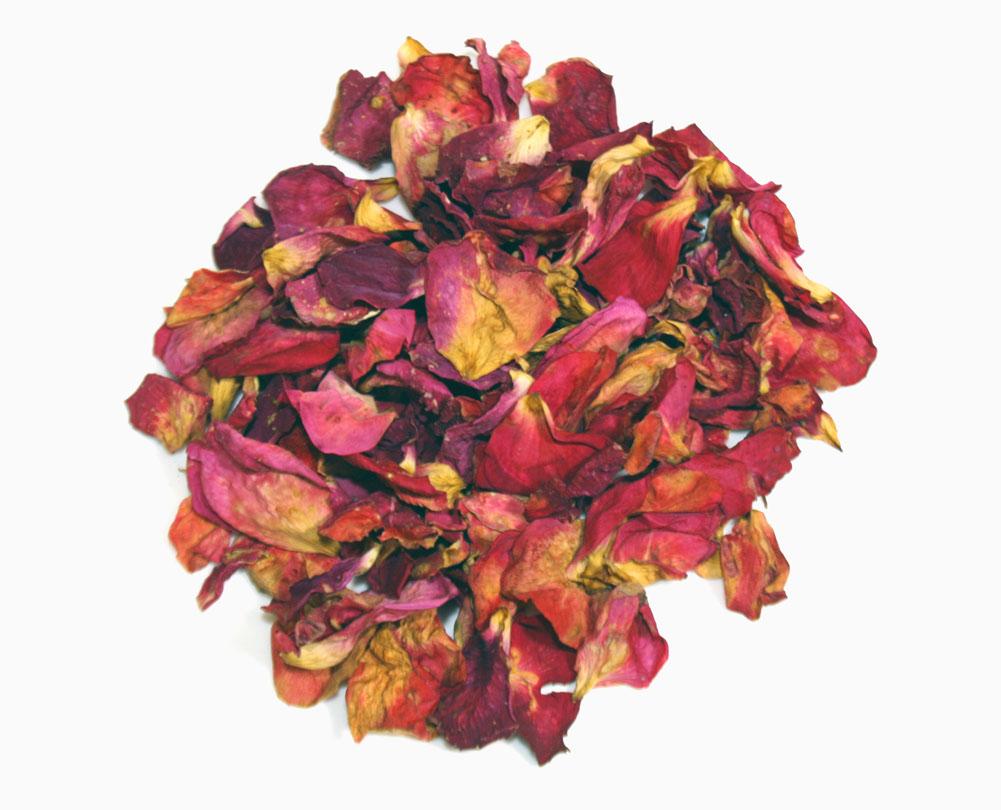 купить сушеные розовые лепестки