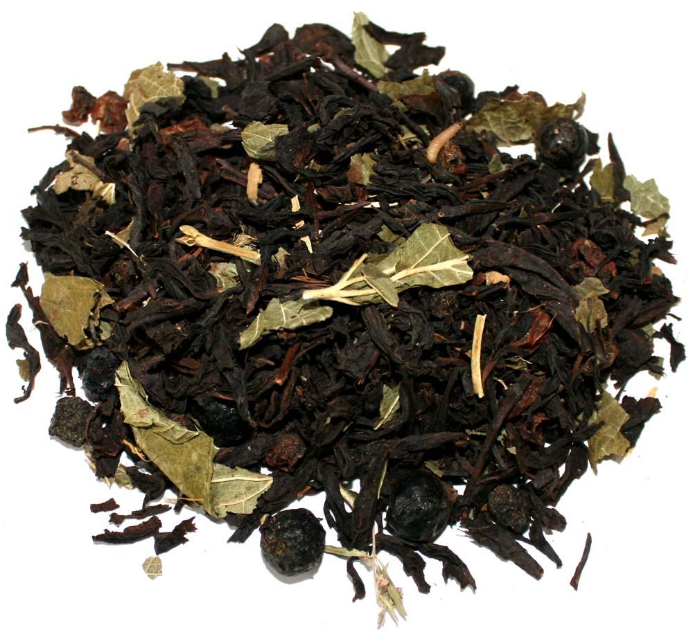 Купить чай Душистая смородина с рябиной